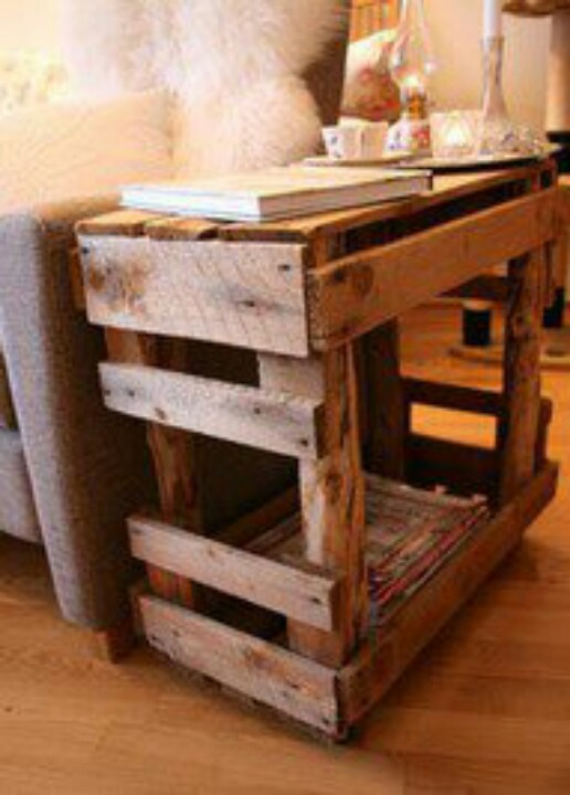 Pallet end table gallery pallet furniture online for End tables made from pallets