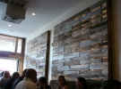 back lighted pallet wall