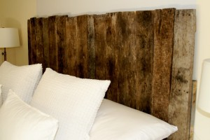 Finished Pallet Headboard